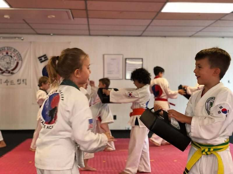 kids training in martial arts classes in hellertown