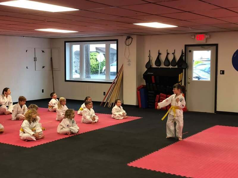 Hellertown preschool training martial arts in classes